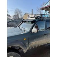 Козырек на лобовое стекло для Toyota Land Cruiser 80