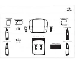Toyota Land Cruiser 100 Накладки на панель Дерево