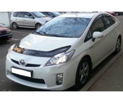 Toyota Prius 2007-2012 гг. Дефлектор капота (VIP)