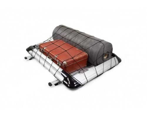 Багажник с поперечинами и сеткой (125см на 220см) Серый для Toyota Proace 2017+