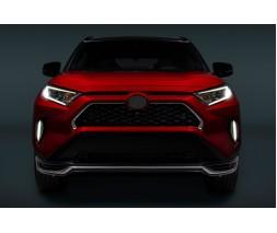 Toyota Rav 4 2019+ Накладки на решетку (2 шт)