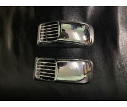 УАЗ 3151 Решетка на повторитель `Прямоугольник` (2 шт, ABS)