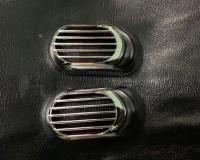 ВАЗ 2108-2109 Решетка на повторитель `Овал` (2 шт, ABS)