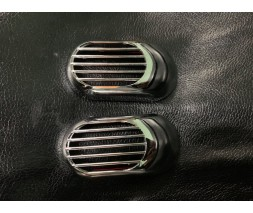 Lada Granta Решетка на повторитель `Овал` (2 шт, ABS)