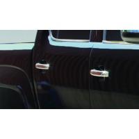 Накладки на ручки (4 шт, нерж) Carmos - Турецкая сталь для Volkswagen Amarok