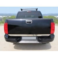 Кромка багажника (нерж) Carmos - Турецкая сталь для Volkswagen Amarok