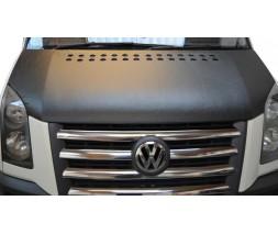 Volkswagen Crafter 2006-2017 гг. Чехол капота (кожазаменитель)