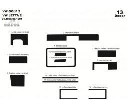 Volkswagen Golf 2 Накладки на панель