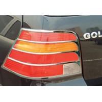 Накладки на стопы (2 шт, пласт) для Volkswagen Golf 4