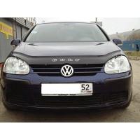 Volkswagen Golf 5 Дефлектор капота (VIP)