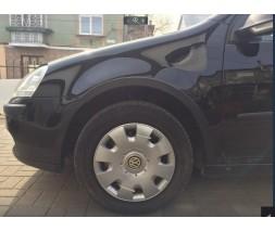 Volkswagen Golf 5 Накладки на арки (4 шт, черный мат)