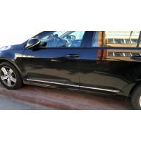 Молдинг дверей (4 шт, нерж) для Volkswagen Golf 7