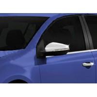 Накладки на зеркала (2 шт, нерж) для Volkswagen Golf 7