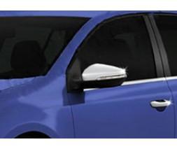 Volkswagen Golf 7 Накладки на зеркала (2 шт, нерж)