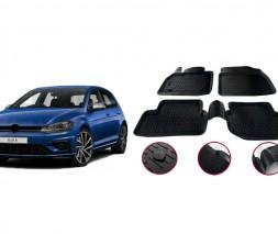 Volkswagen Golf 7 Резиновые коврики (4 шт, Niken 3D)
