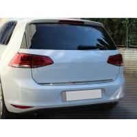 Кромка багажника HB (нерж) для Volkswagen Golf 7