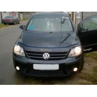Дефлектор капота (VIP) для Volkswagen Golf Plus