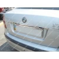 Хром планка над номером (нерж.) для Volkswagen Golf Plus