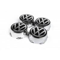 Колпачки в диски (1 шт) Турция, хром для Volkswagen LT 1998+