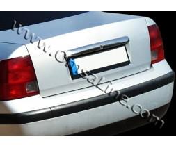 Volkswagen Passat B5 1997-2005 гг. Хром планка над номером (1996-2000, нерж.)