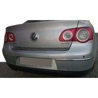 Кромка багажника (нерж) OmsaLine - Итальянская нержавейка для Volkswagen Passat B6 2006-2012