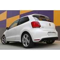 Спойлер (под покраску) для Volkswagen Polo 2009-2017