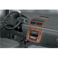 Накладки на панель Титан для Volkswagen Sharan 1995-2010