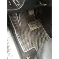 Полиуретановые коврики (2 ряда, EVA, черные) для Volkswagen Sharan 2010+