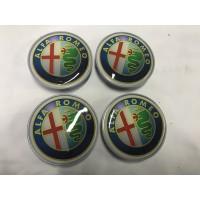 Колпачки на диски 65мм V1 силикон (4 шт) для Alfa Romeo