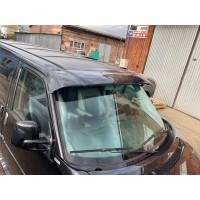 Козырек на лобовое стекло (черный глянец, 5мм) для Volkswagen T4 Caravelle/Multivan