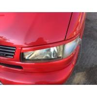 Реснички Косой капот (2 шт) Черный мат для Volkswagen T4 Caravelle/Multivan