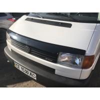Дефлектор капота FLY (прямые фары) для Volkswagen T4 Caravelle/Multivan