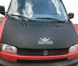 Volkswagen T4 Caravelle/Multivan Чехол капота на прямой капот (кожазаменитель)