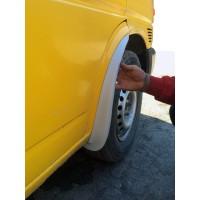 Передние брызговики (2 шт, стекловолокно) для Volkswagen T4 Transporter