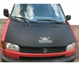 Volkswagen T4 Transporter Чехол капота на прямой капот (кожазаменитель)