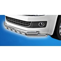 Передний ус ST015 (нерж) для Volkswagen T5 Caravelle 2004-2010