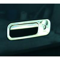 Хром на ручку багажника (нерж) OmsaLine - Итальянская нержавейка для Volkswagen T5 Multivan 2003-2010