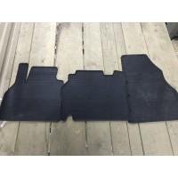 Резиновые коврики (3 шт, Polytep, для 1-20212) для Volkswagen T5 Multivan 2003-2010
