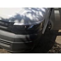 Реснички для фар (2 шт, под покраску) для Volkswagen T5 рестайлинг 2010-2015