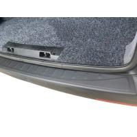 Накладка на задний бампер DDU (ABS) для Volkswagen T6 2015+, 2019+