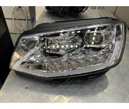 Volkswagen T6 2015+, 2019+ гг. Передняя оптика LED Silver (2 шт)