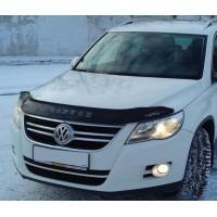 Дефлектор капота (VIP) для Volkswagen Tiguan 2007-2016