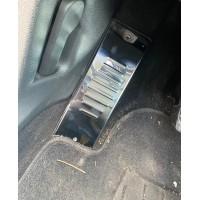 Накладка под ногу (нерж) для Volkswagen Tiguan 2007-2016