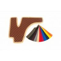 Коврики EVA (кирпичные) для Volkswagen Touareg 2002-2010