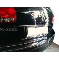 Хром планка над номером (нерж) для Volkswagen Touareg 2002-2010