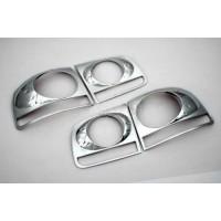 Накладки задние фонари 2008-2011 (2 шт, пласт) для Volkswagen Touareg 2002-2010