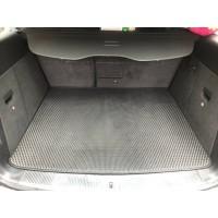 Коврик багажника (EVA, полиуретановый, черный) для Volkswagen Touareg 2002-2010