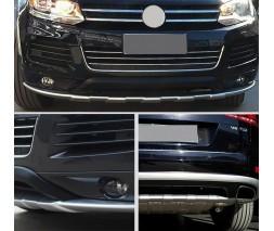 Volkswagen Touareg 2010-2018 гг. Передняя и задняя накладки V1 (2010-2014)