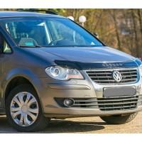 Дефлектор капота 2003-2007 (VIP) для Volkswagen Touran 2003-2010