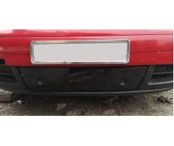 Volkswagen Touran 2003-2010 гг. Зимняя решетка (нижняя, 2003-2006) Глянцевая